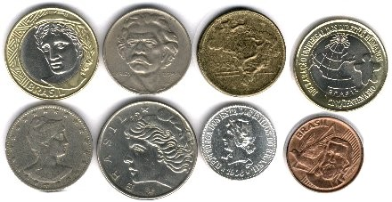 Coin Types from Brazil