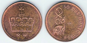 Norwegian coin